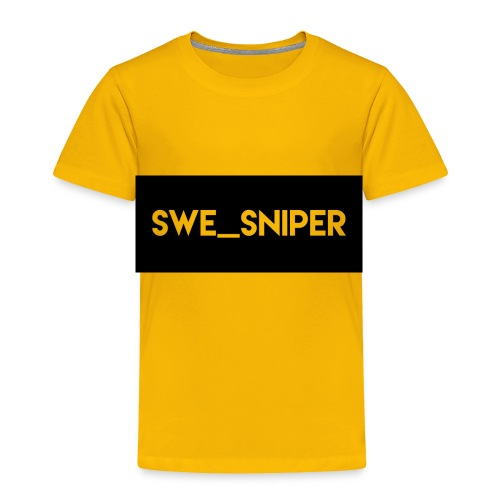 Swe_Sniper Logo - Toddler Premium T-Shirt