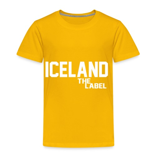 iceland_the_label_printable - Toddler Premium T-Shirt