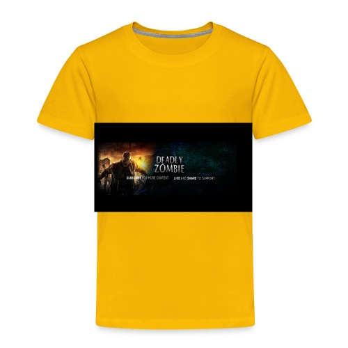 Deadly_Zombies_-1- - Toddler Premium T-Shirt