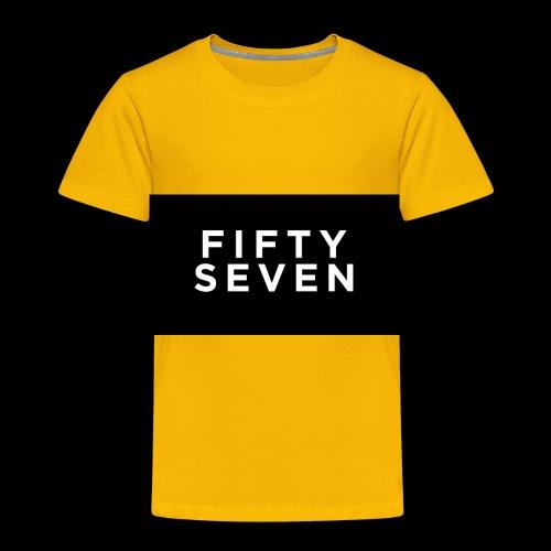 Fifty-Seven - Toddler Premium T-Shirt
