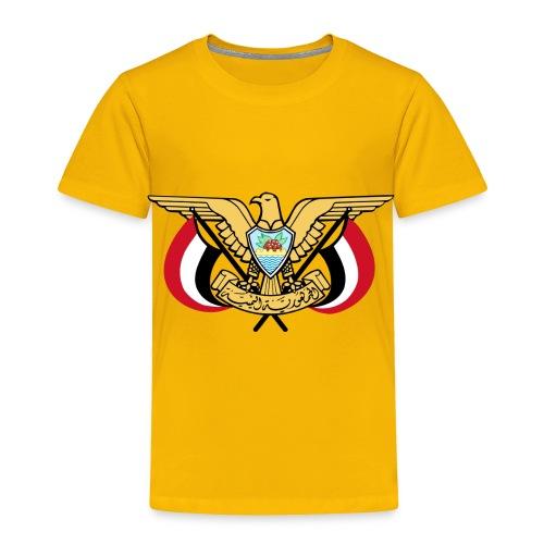 Emblem of Yemen svg - Toddler Premium T-Shirt