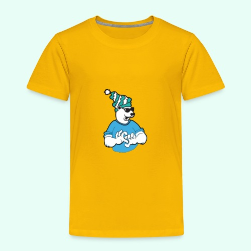 Sarcasm XD Poaly the Polar bear - Toddler Premium T-Shirt