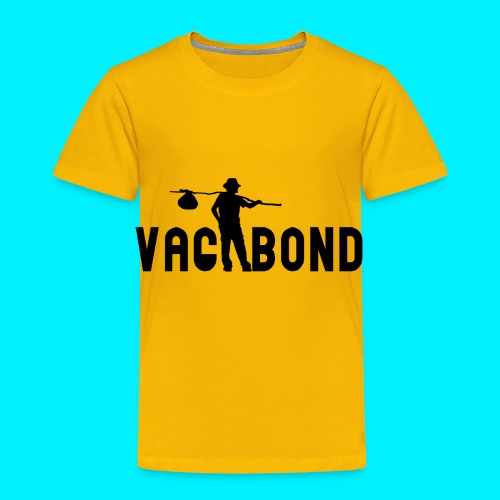 Vagabond Logo Wide - Toddler Premium T-Shirt