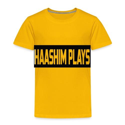 Haashim Plays - Toddler Premium T-Shirt