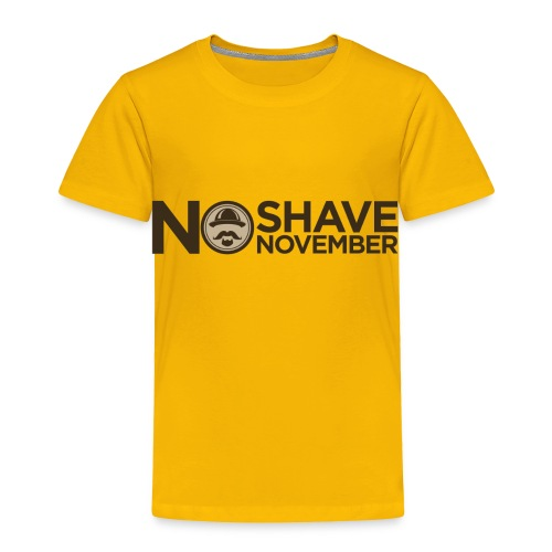 No shave November - Toddler Premium T-Shirt