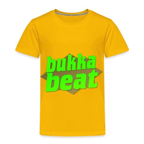 Bukka Beat Logo ( bukkabeat.com ) - Toddler Premium T-Shirt