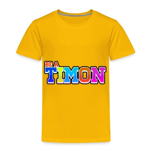 TimonKidsEdition | Colorful Desing - Toddler Premium T-Shirt