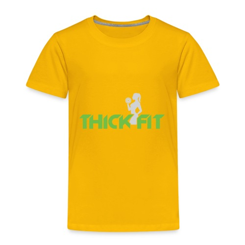 thick_fit_green_without_tag_line - Toddler Premium T-Shirt