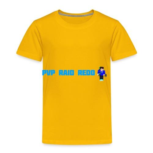 iTzPreston Shirt PvP Raid Redo 2 - Toddler Premium T-Shirt