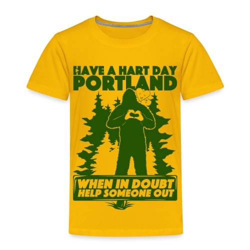 Have A Hart Day Portland - Button Pack - Toddler Premium T-Shirt