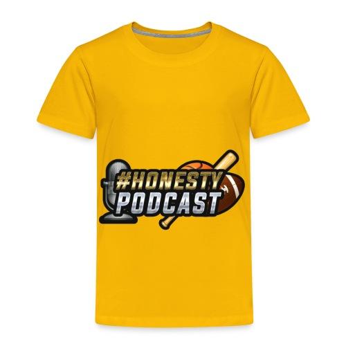 Honesty Podcast Logo - Toddler Premium T-Shirt