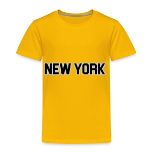 New York Yankee - Black - Toddler Premium T-Shirt