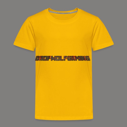 DropWolfGaming - Toddler Premium T-Shirt