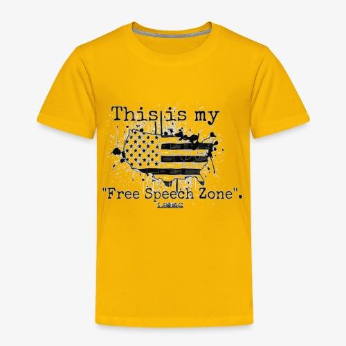 Free Speech Zone - Toddler Premium T-Shirt