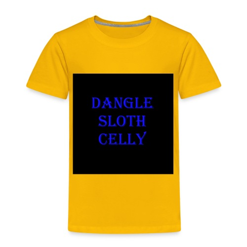 danglesloth - Toddler Premium T-Shirt