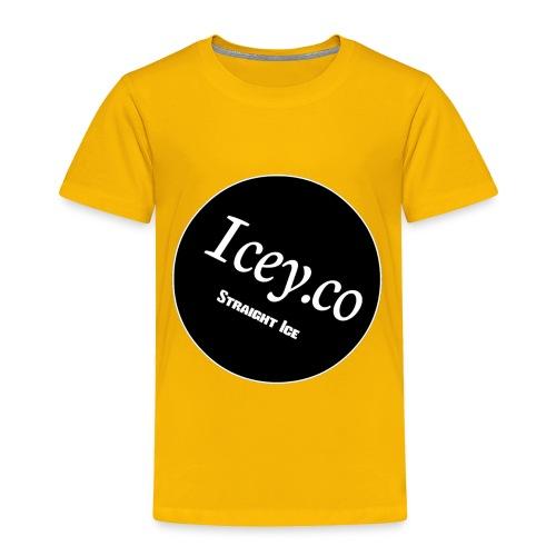 Icey.co straight ice range - Toddler Premium T-Shirt