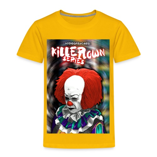 clown series - Toddler Premium T-Shirt