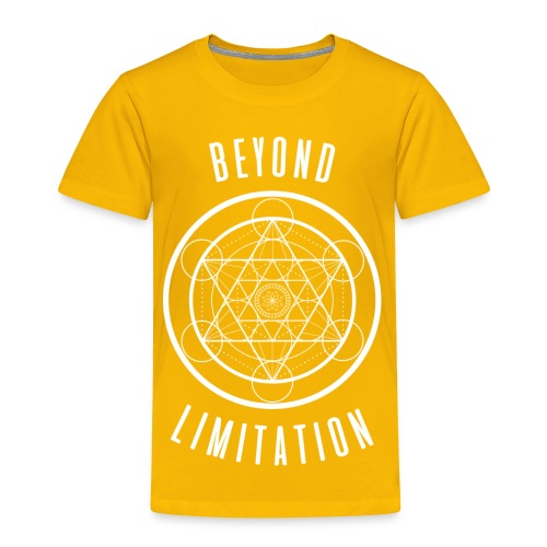 BeyondLimitation White - Toddler Premium T-Shirt