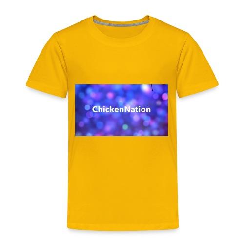 CHICKENNATION - Toddler Premium T-Shirt