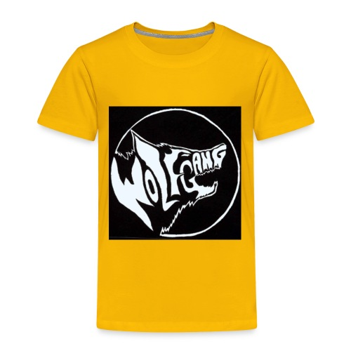 wolf army - Toddler Premium T-Shirt