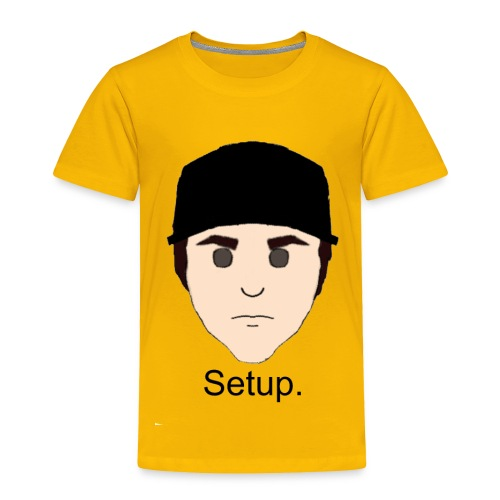Setup Sam Squared Merch - Toddler Premium T-Shirt