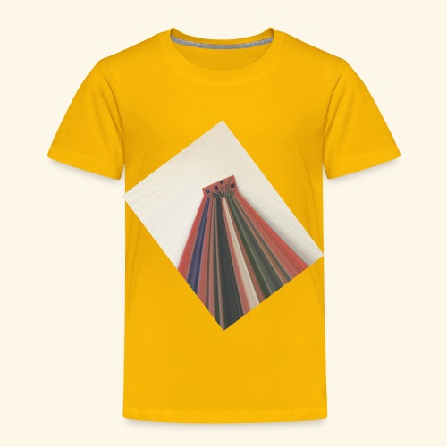 Flowers zooming toward the sky. - Toddler Premium T-Shirt