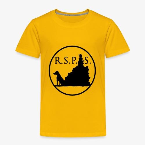 RSPS logo Circle black - Toddler Premium T-Shirt