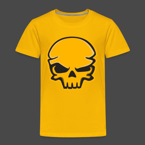 Gold Black Logo - Toddler Premium T-Shirt