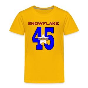 president SNOWFLAKE 45 - Toddler Premium T-Shirt