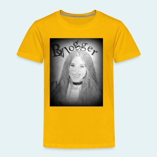 Beauty Vlogger Image Tshirt - Toddler Premium T-Shirt