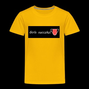 girls suckz - Toddler Premium T-Shirt