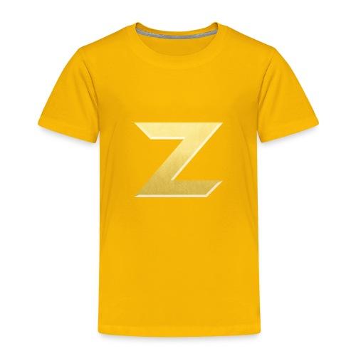 Zonary Alliance Gold logo Shirt - Toddler Premium T-Shirt