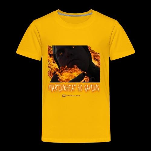 Martinoheat HD Gaming button - Toddler Premium T-Shirt