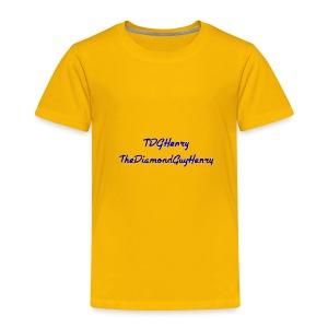 TDGHenryTheDiamondGuyHenry - Toddler Premium T-Shirt