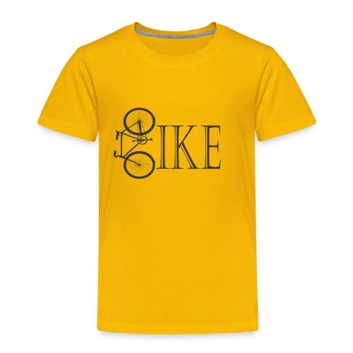 Bicycle Bike Design - Toddler Premium T-Shirt