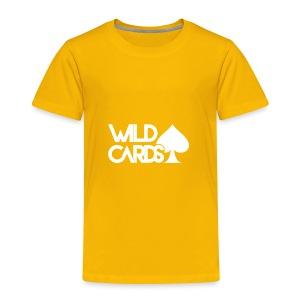 Black Wild Cards Hoodie - Toddler Premium T-Shirt