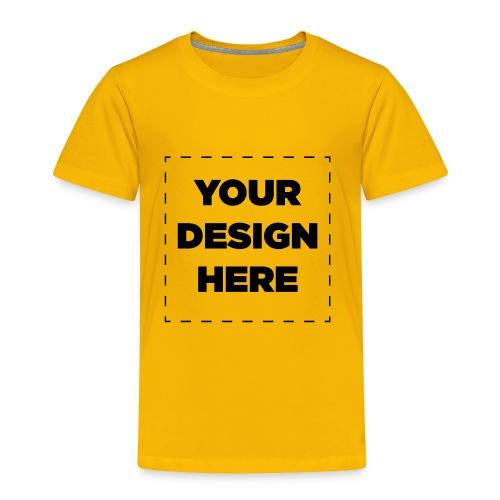 Name of design - Toddler Premium T-Shirt