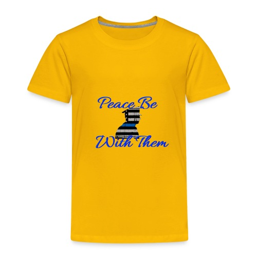 Peace Be With Them - Toddler Premium T-Shirt
