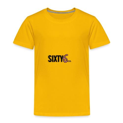 Sixty6Pocket - Toddler Premium T-Shirt