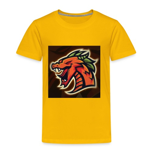 Crazy shooter logo - Toddler Premium T-Shirt