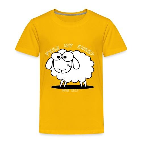 Feed My Sheep - Toddler Premium T-Shirt