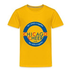 ChicagoCheer.Com - Toddler Premium T-Shirt