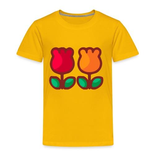 Loving Tulips - Toddler Premium T-Shirt