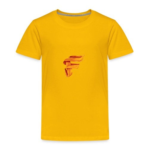 FlameyMC's Logo - Toddler Premium T-Shirt