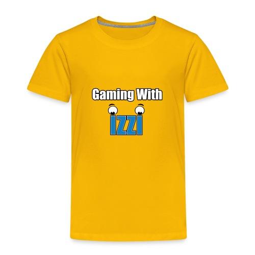 Gaming With Izzi - Toddler Premium T-Shirt
