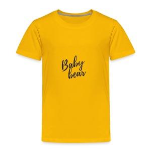 Baby bear - Toddler Premium T-Shirt