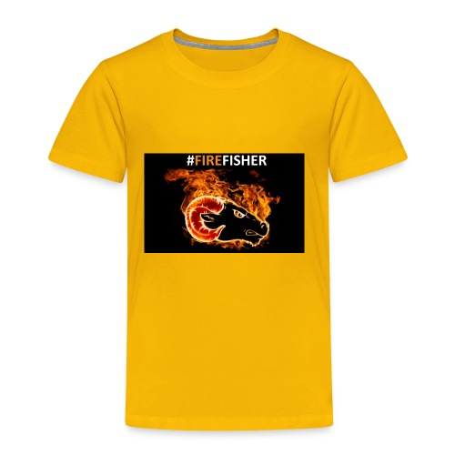 Fire_Fisher - Toddler Premium T-Shirt