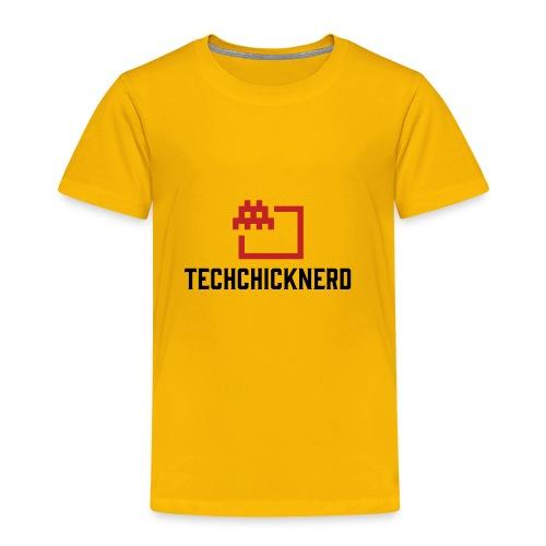 TechChick-Nerd logo #1 - Toddler Premium T-Shirt