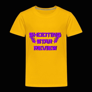 Shooting Star Review Purple Logo - Toddler Premium T-Shirt