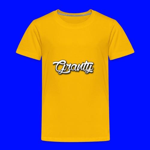 Official Logo of Granty - Toddler Premium T-Shirt